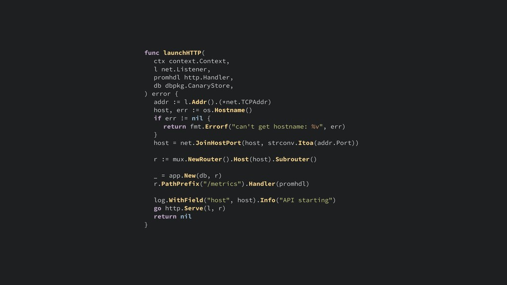 func launchHTTP( ctx context.Context, l net.Lis...