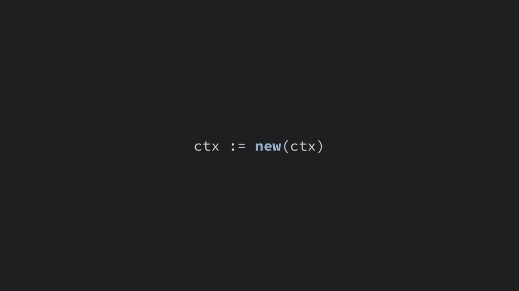 ctx := new(ctx)