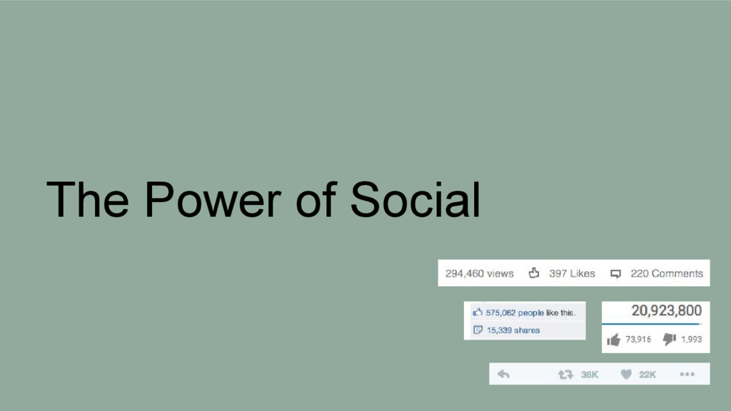 The Power of Social