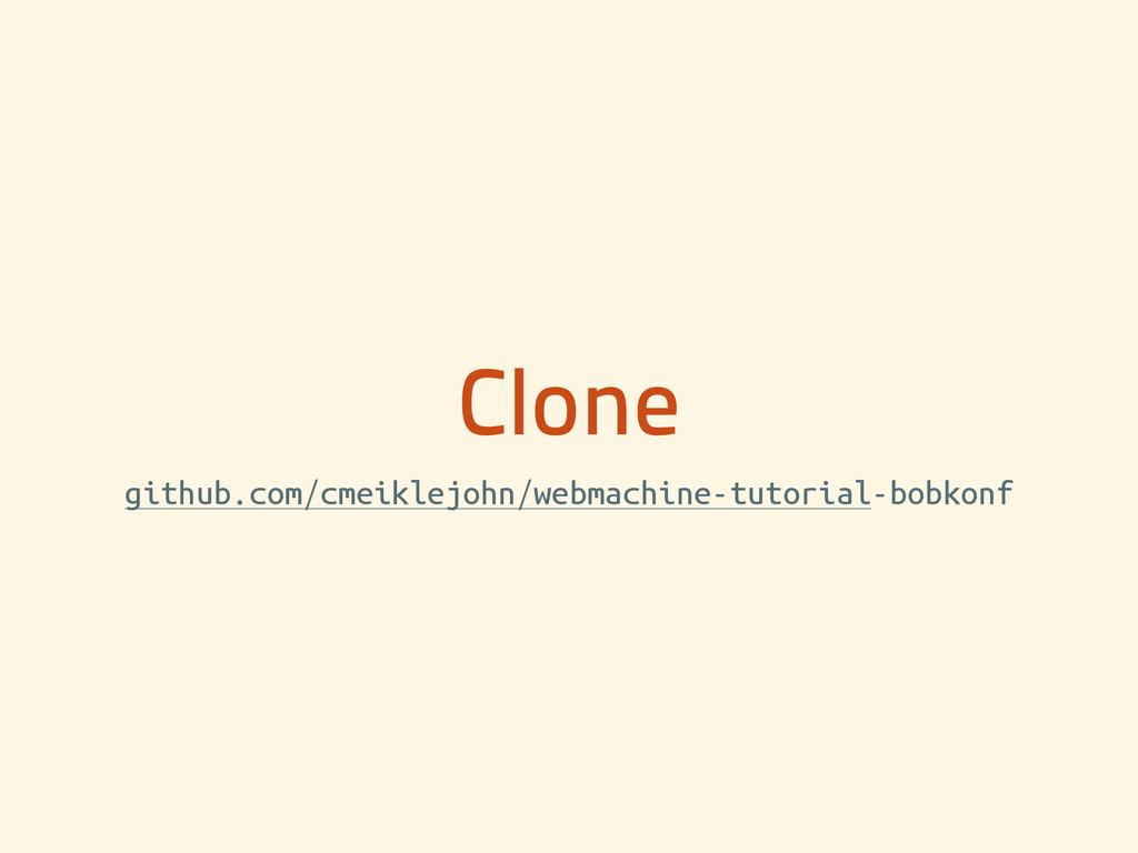 Clone github.com/cmeiklejohn/webmachine-tutoria...