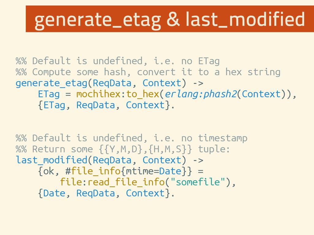 %% Default is undefined, i.e. no ETag %% Comput...