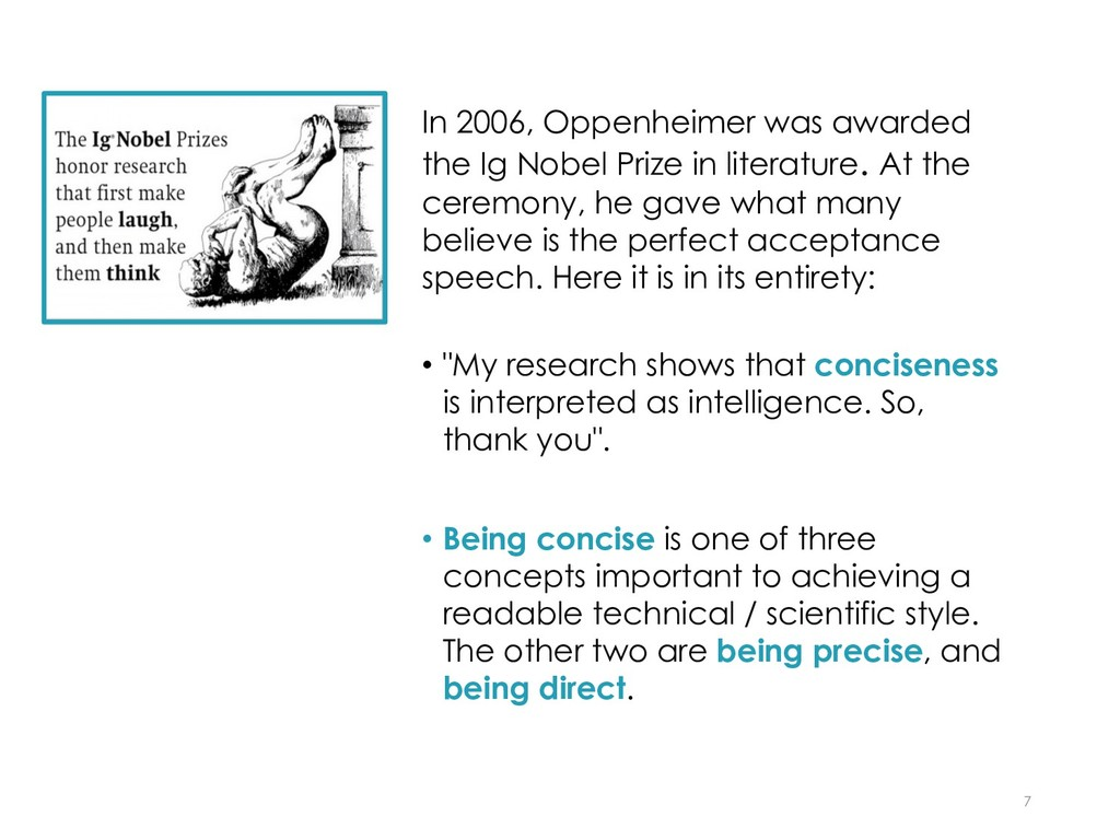 In 2006, Oppenheimer was awarded the Ig Nobel P...