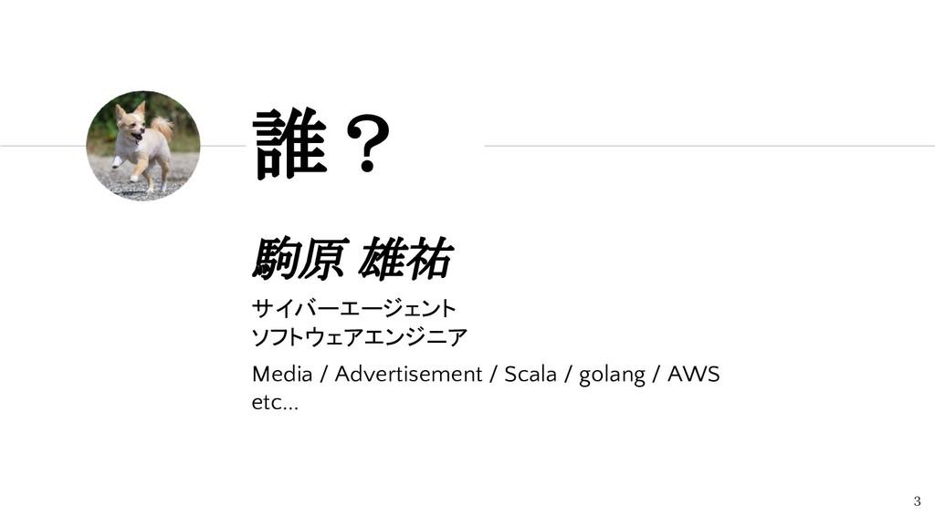 駒原 雄祐 サイバーエージェント ソフトウェアエンジニア Media / Advertisem...