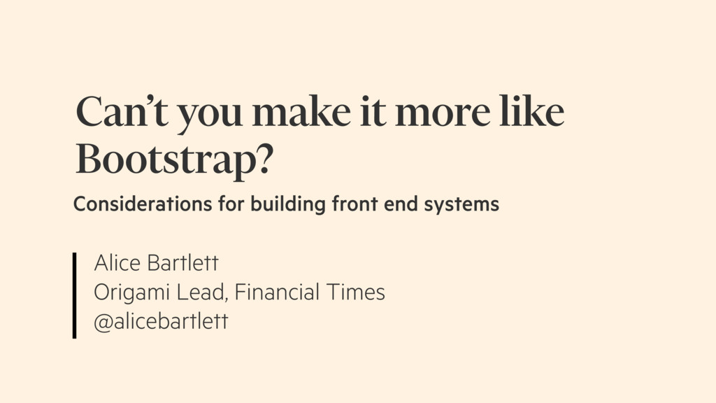 Alice Bartlett Origami Lead, Financial Times @a...