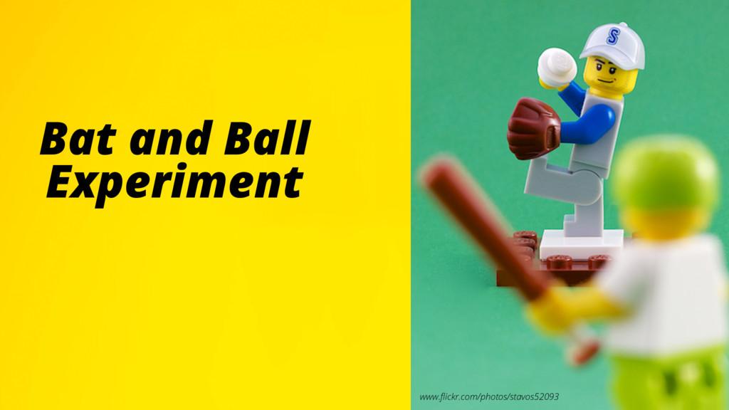 TITLE TLSKDJFLDSKF Bat and Ball Experiment www....