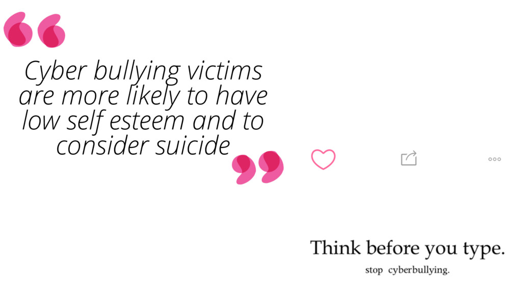 Cyber bullying victims are more likely to have ...