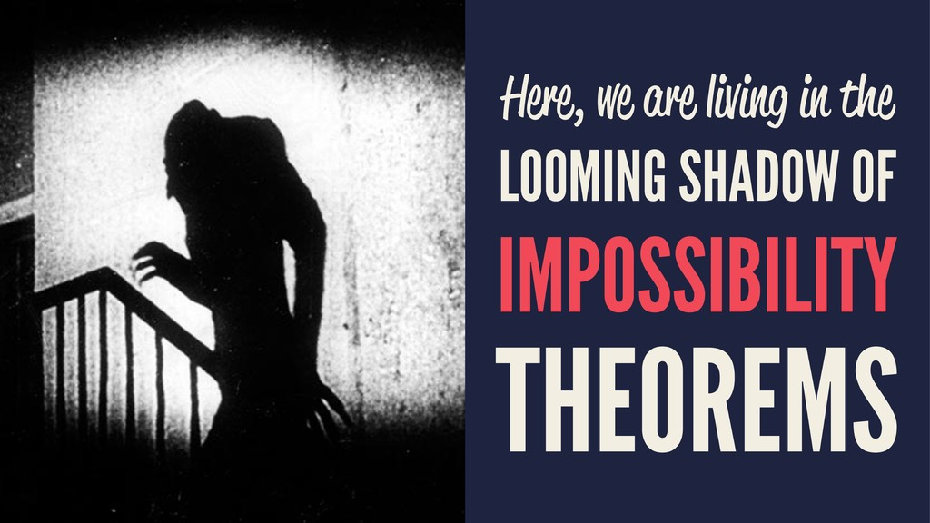 Here, we are living in the LOOMING SHADOW OF IM...