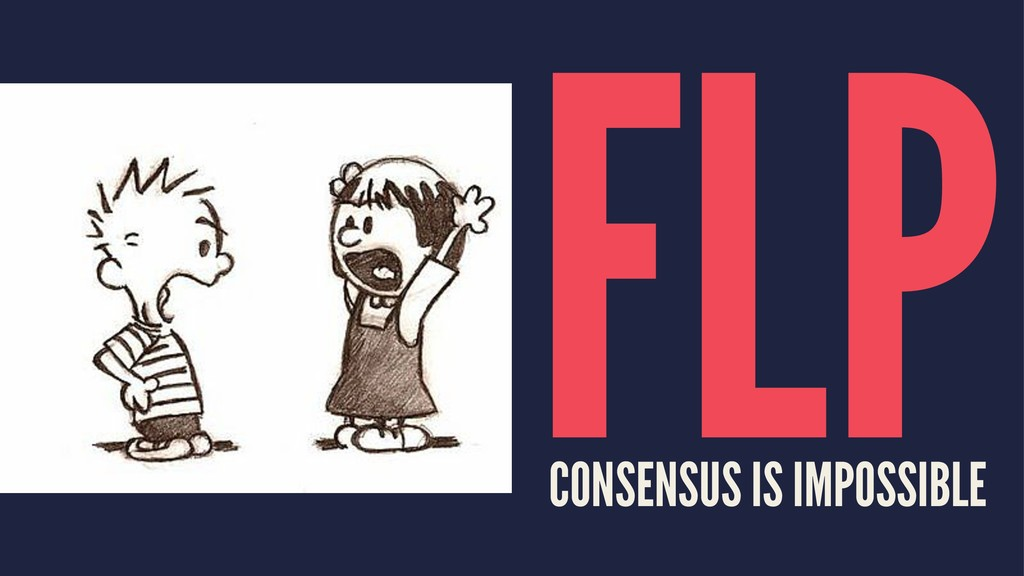 FLP CONSENSUS IS IMPOSSIBLE