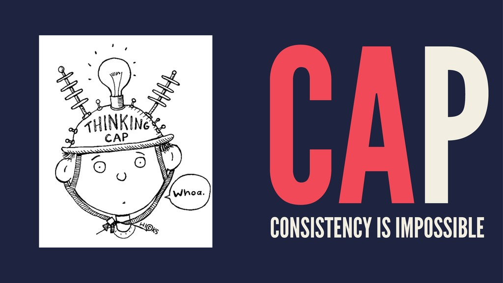 CAP CONSISTENCY IS IMPOSSIBLE