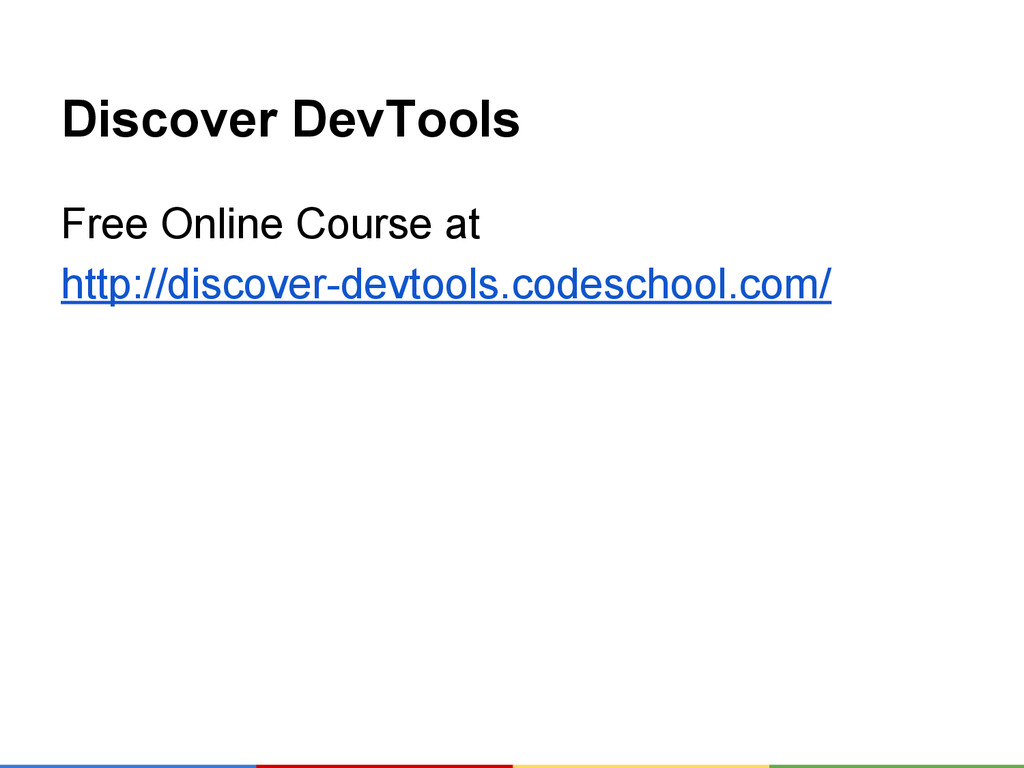 Discover DevTools Free Online Course at http://...