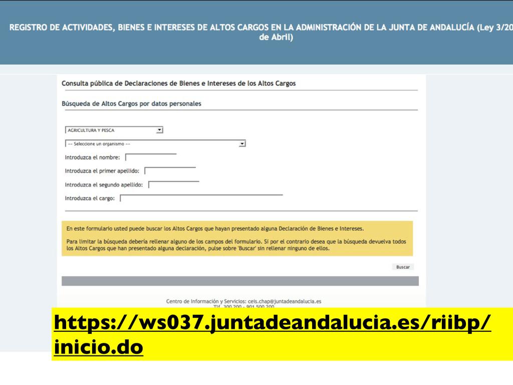 https://ws037.juntadeandalucia.es/riibp/ inicio...