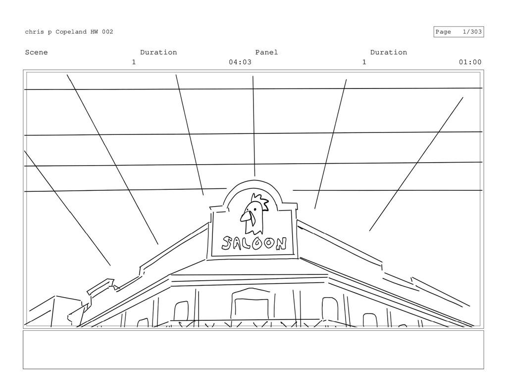 Scene 1 Duration 04:03 Panel 1 Duration 01:00 c...