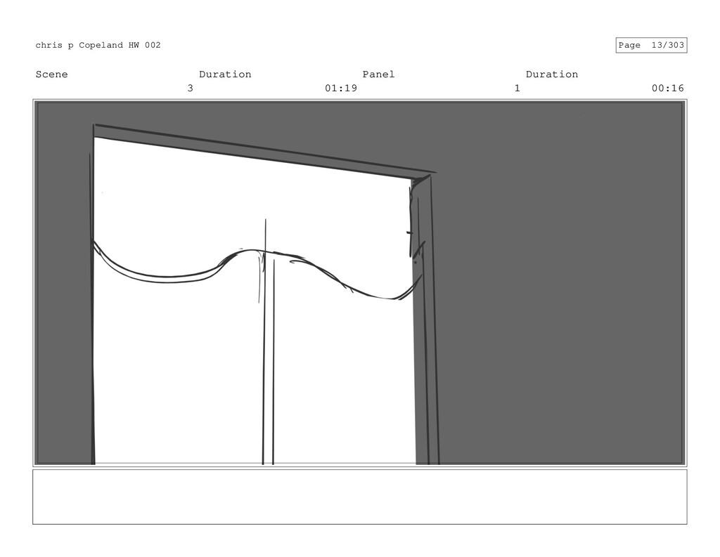 Scene 3 Duration 01:19 Panel 1 Duration 00:16 c...