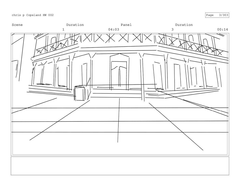 Scene 1 Duration 04:03 Panel 3 Duration 00:14 c...