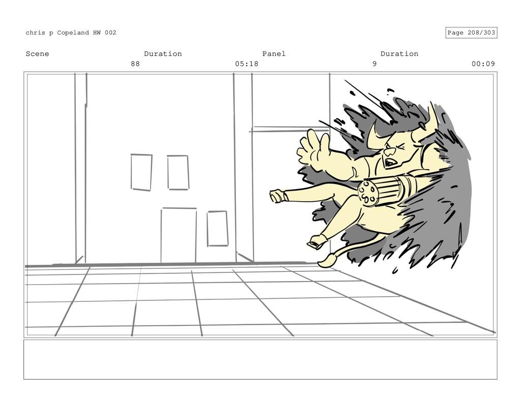 Scene 88 Duration 05:18 Panel 9 Duration 00:09 ...
