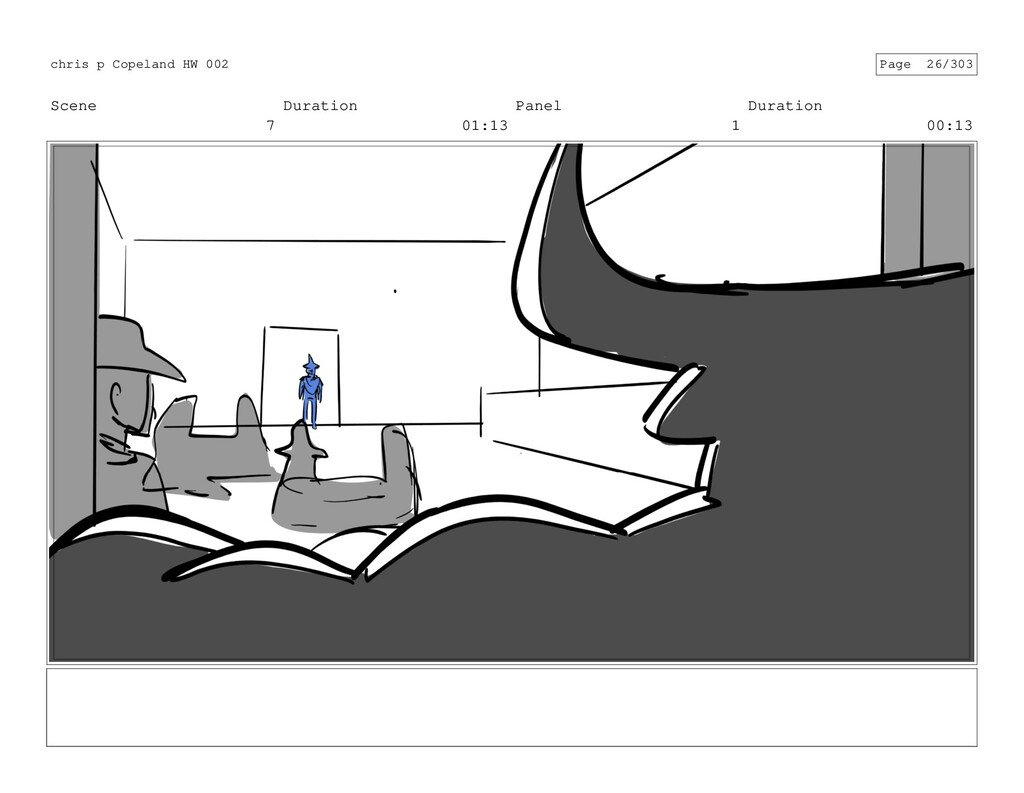 Scene 7 Duration 01:13 Panel 1 Duration 00:13 c...