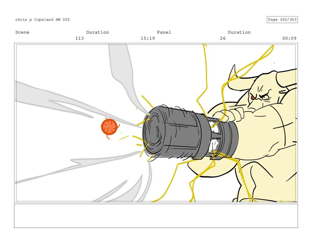 Scene 113 Duration 15:19 Panel 26 Duration 00:0...