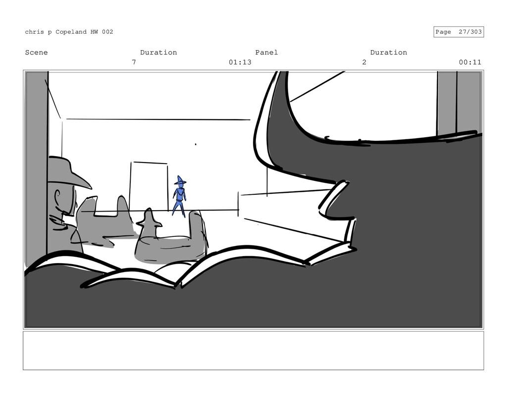 Scene 7 Duration 01:13 Panel 2 Duration 00:11 c...
