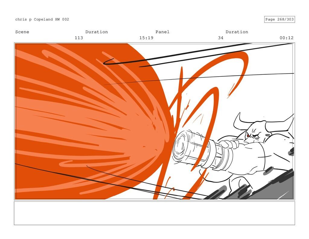 Scene 113 Duration 15:19 Panel 34 Duration 00:1...