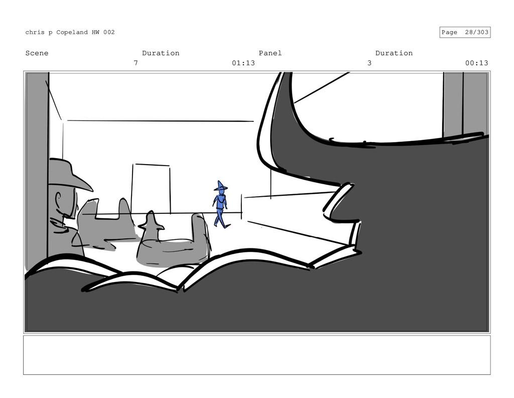 Scene 7 Duration 01:13 Panel 3 Duration 00:13 c...