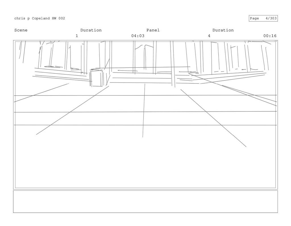 Scene 1 Duration 04:03 Panel 4 Duration 00:16 c...