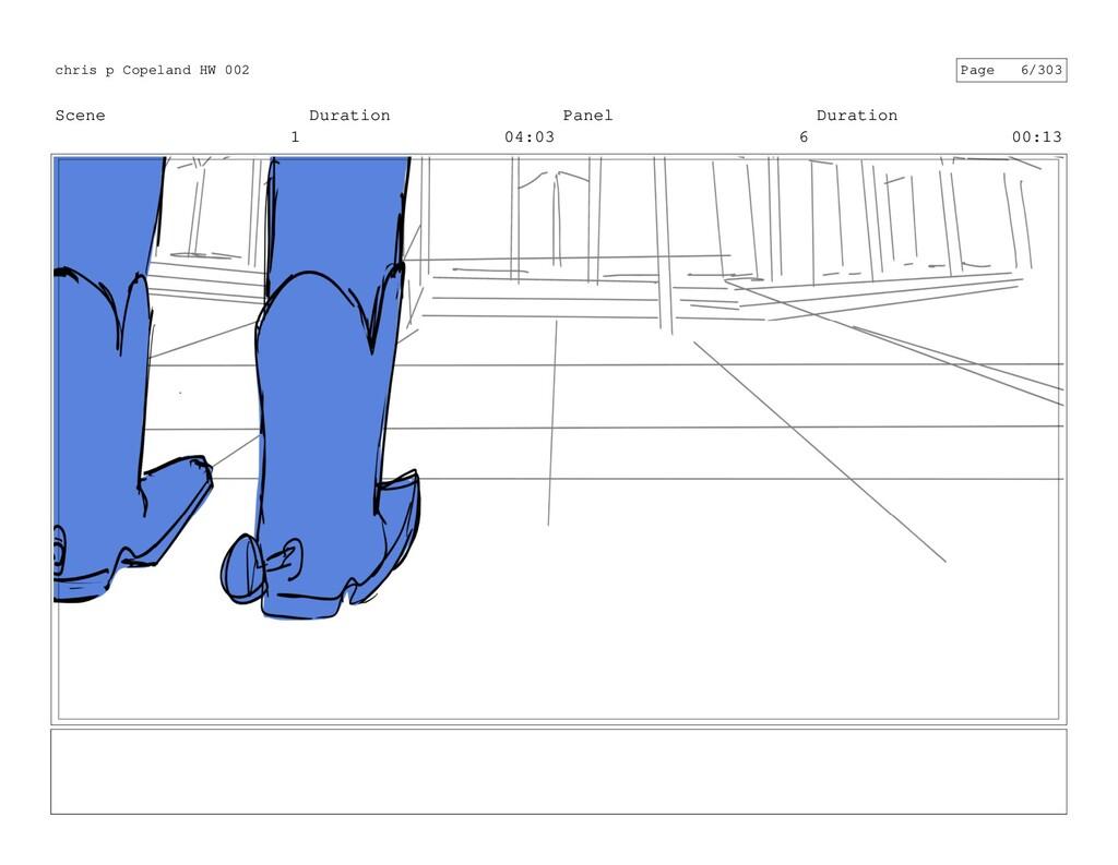 Scene 1 Duration 04:03 Panel 6 Duration 00:13 c...