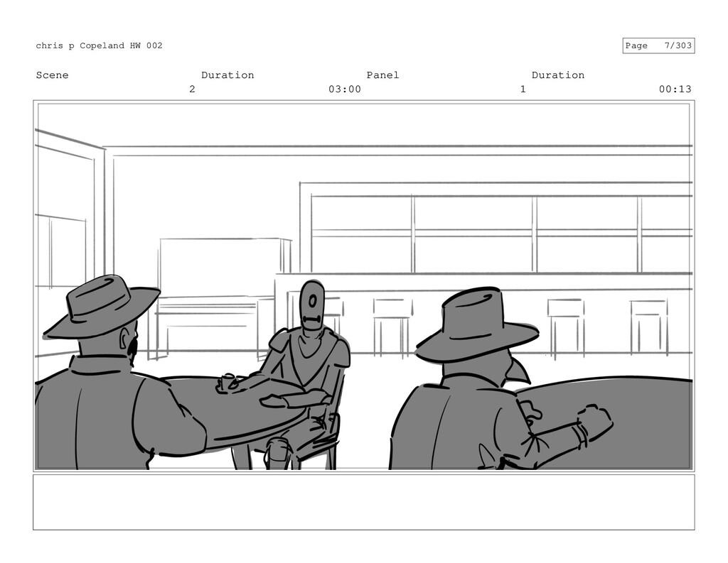 Scene 2 Duration 03:00 Panel 1 Duration 00:13 c...