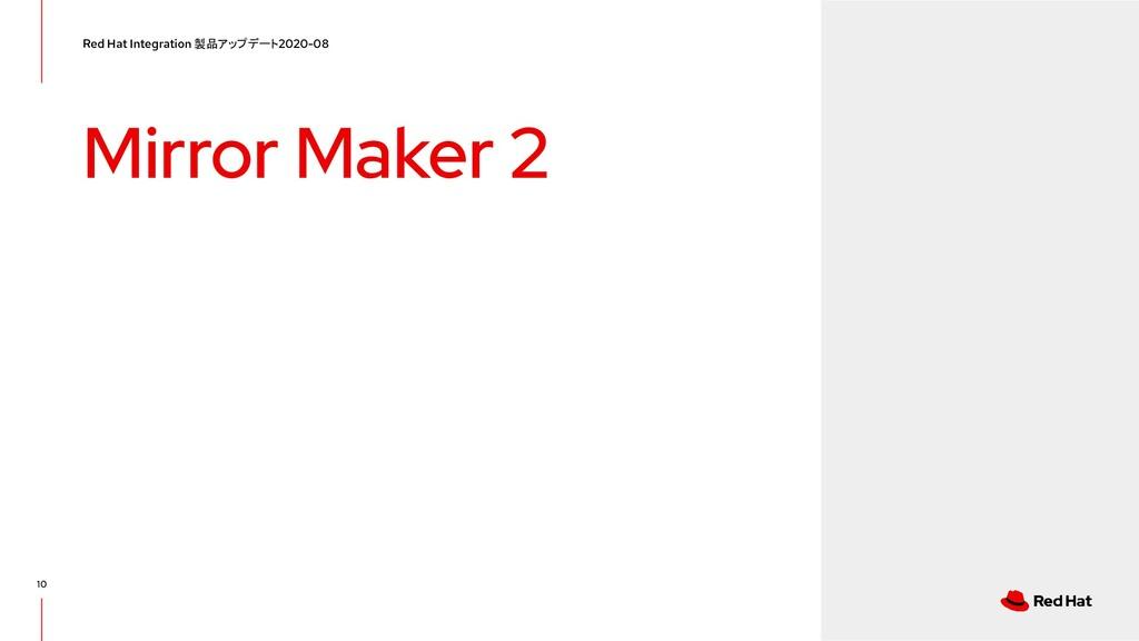 Mirror Maker 2 Red Hat Integration 製品アップデート 202...