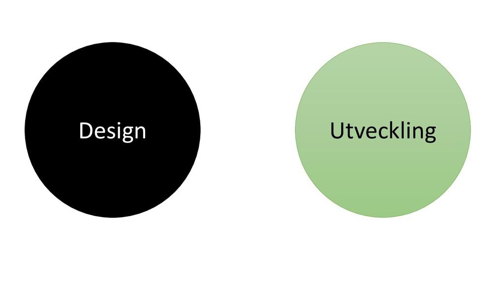 Design Utveckling