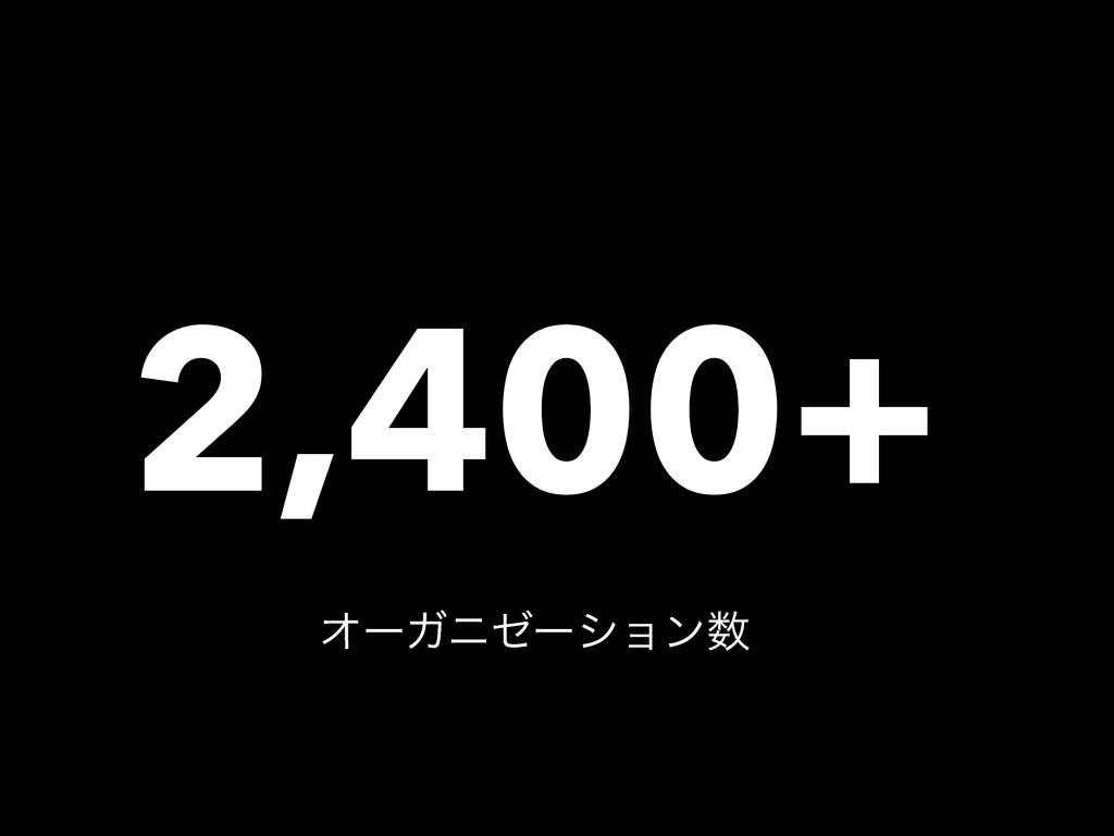 2,400+ ΦʔΨχθʔγϣϯ