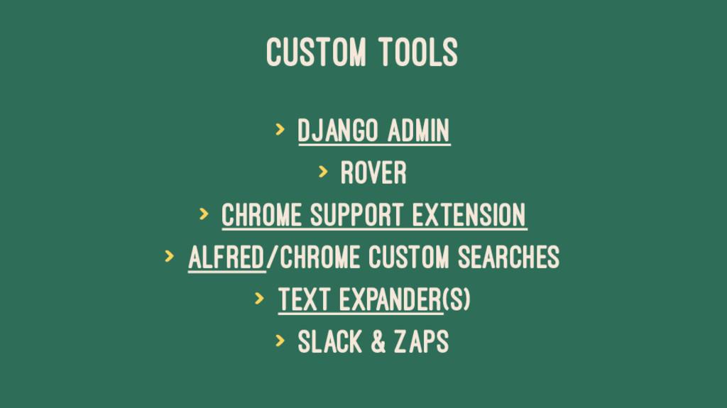 CUSTOM TOOLS > Django Admin > Rover > Chrome Su...