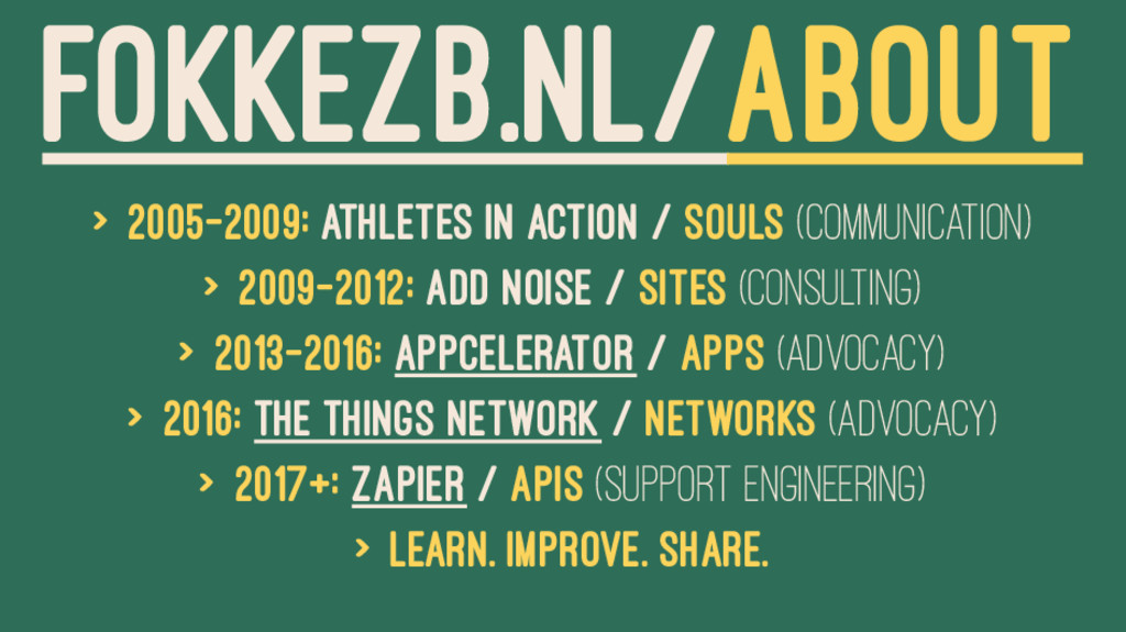 FOKKEZB.NL/ABOUT > 2005-2009: Athletes in Actio...
