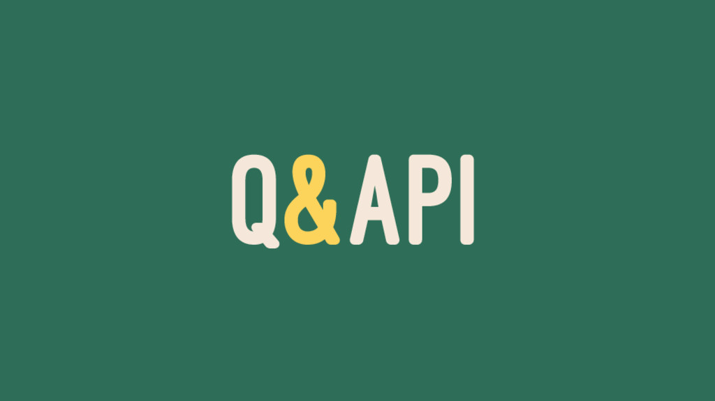 Q&API
