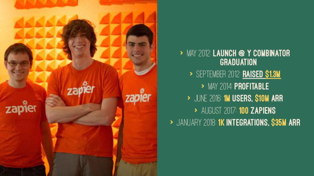 > May 2012: Launch @ Y Combinator Graduation > ...
