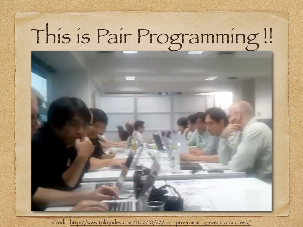 This is Pair Programming !! Credit: http://www....