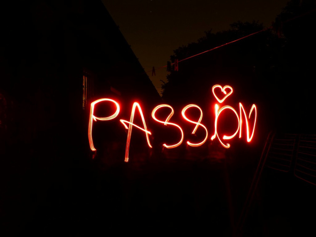 Passion and speaking