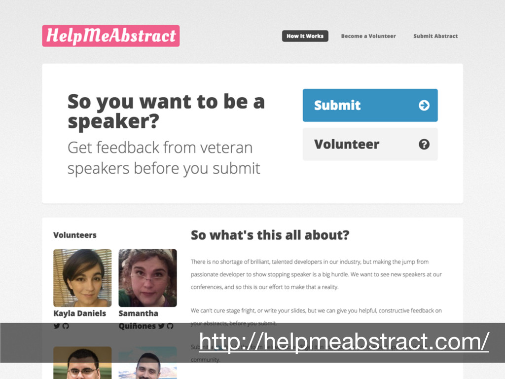 Abstract review http://helpmeabstract.com/