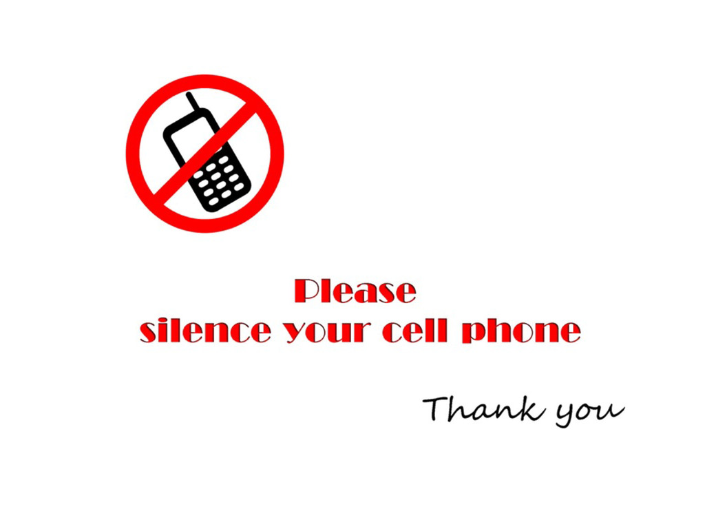 Silence your phone and notifications