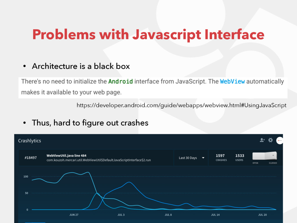 • Architecture is a black box https://developer...