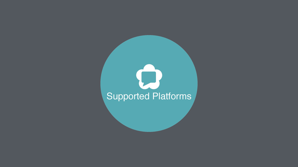Supported Platforms