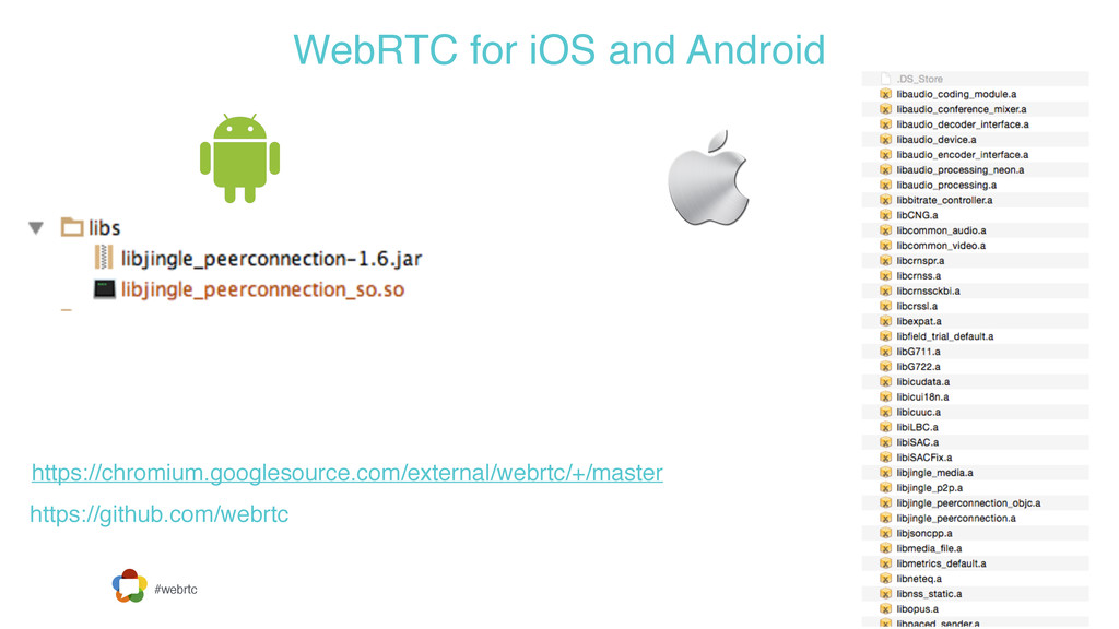 #webrtc WebRTC for iOS and Android https://chro...