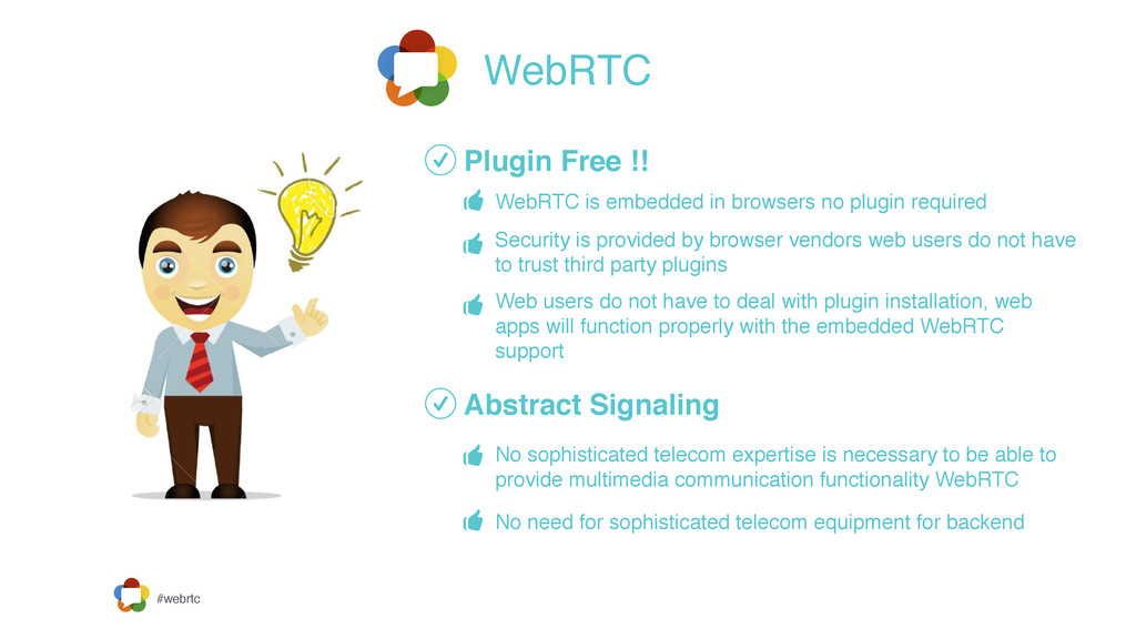 #webrtc WebRTC Plugin Free !! Abstract Signalin...