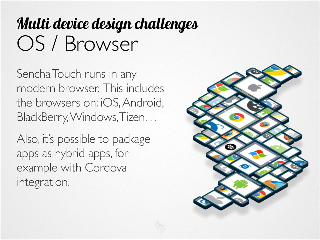 Sencha Touch runs in any modern browser. This i...