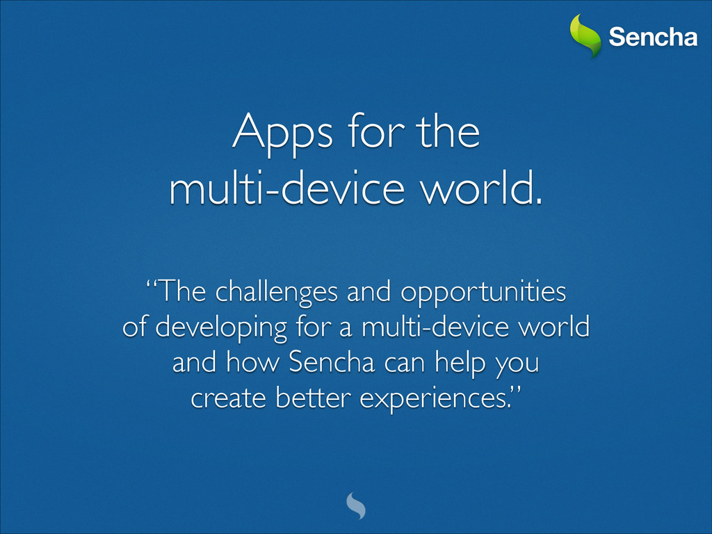 Apps for the 	 