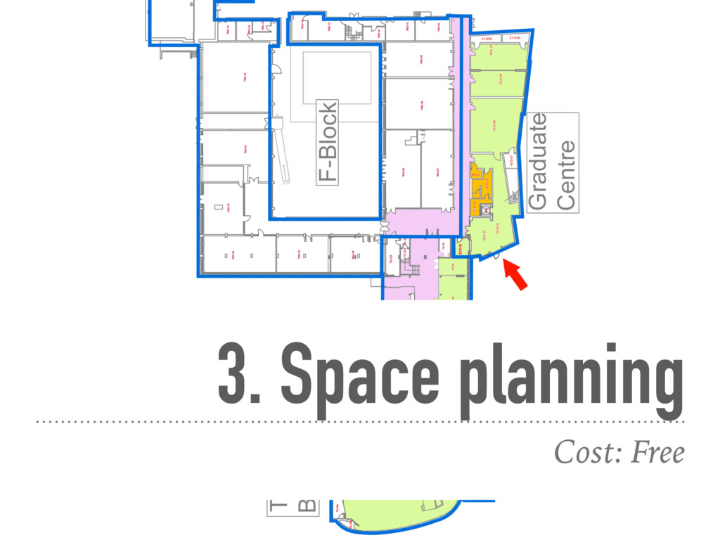 3. Space planning Cost: Free