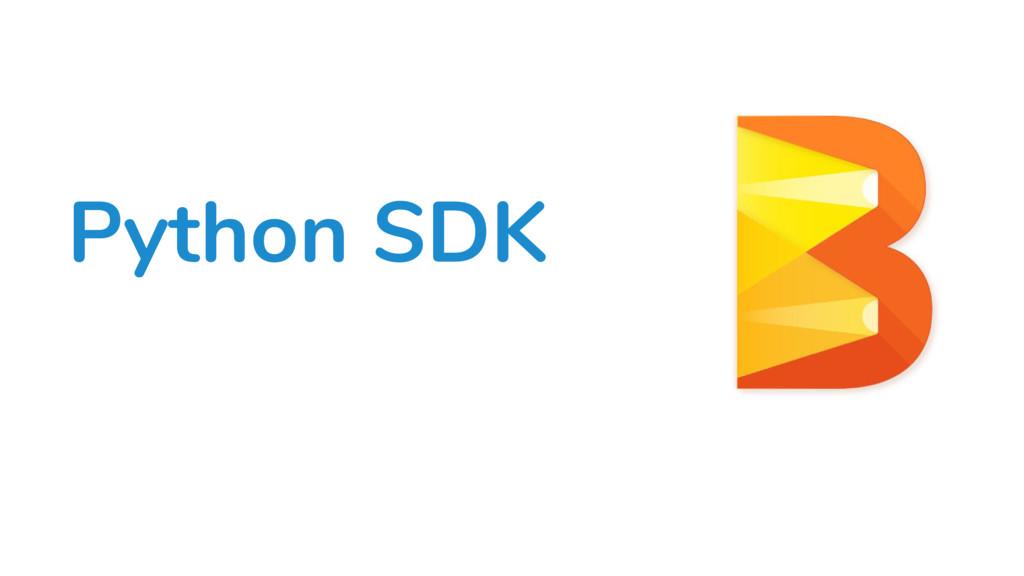 Python SDK