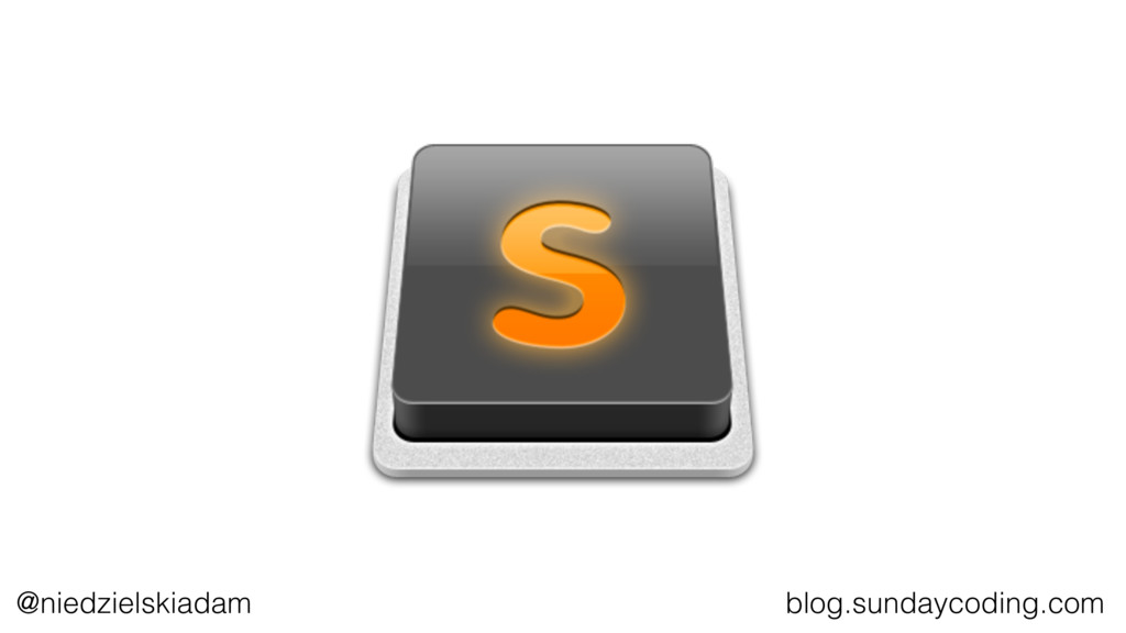 @niedzielskiadam blog.sundaycoding.com