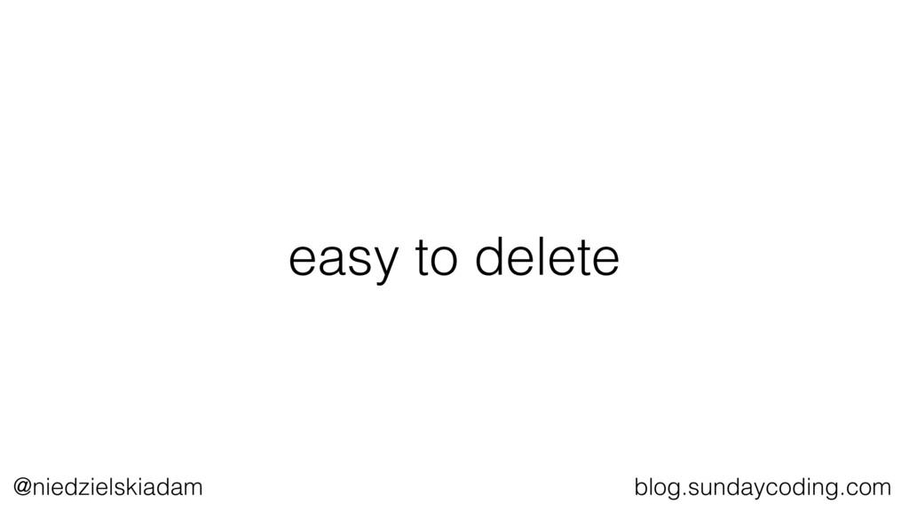 @niedzielskiadam blog.sundaycoding.com easy to ...