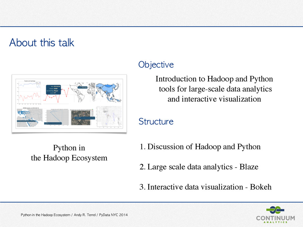 Python	 in	 the	 Hadoop	 Ecosystem	 /	 Andy	 R....