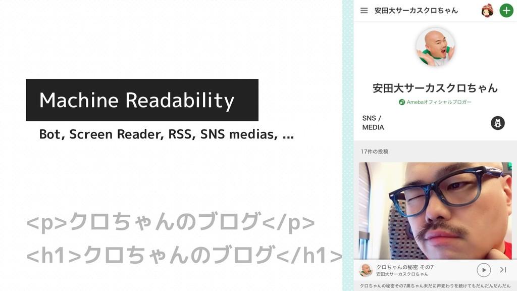 <h1>クロちゃんのブログ</h1> <p>クロちゃんのブログ</p> Machine Rea...